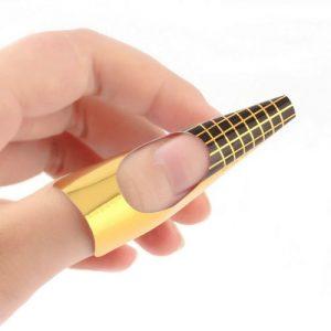 Sjablonen goud large 50 stuks voor diverse doeleinden.