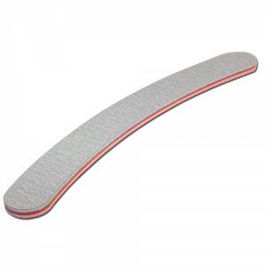Nagelvijl Boomerang grijs 100/180 voor het maken van nagels.