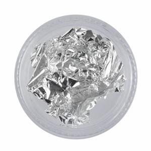 Bladgoud Folie zilver voor prachtige nageldecoratie.