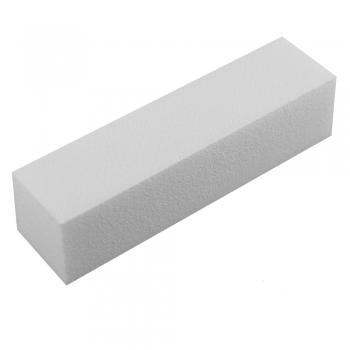 Polijstblok wit voor het glad maken van de nagels.