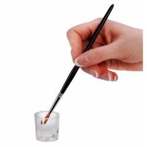 Dappen Dish Glas voor het werken met acrylnagels.