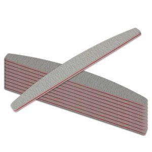 Halfmoon Vijl 80/80 10 stuks voor het grovere vijlwerk met het maken van nagels.