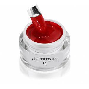 Champions Red 09 is een colour gel voor LED en UV-lampen.