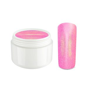 Mermaid gel koralle-pink is een trendy gel met mermaid effect.