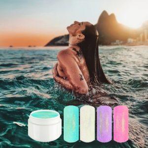 Mermaid set met 4 prachtige colour gels in mermaid-look.