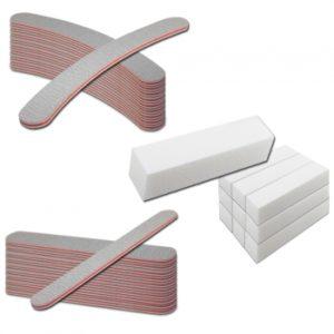Nagelvijlen set 30 stuks ideal bij het maken van nagels en manicure.