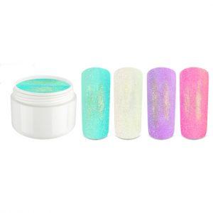 Mermaid set bestaat uit 4 colour gels in mermaid-look.