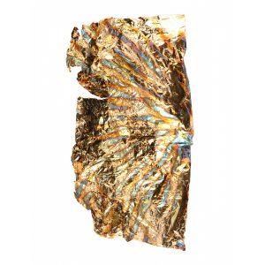 Bladgoud folie multi is een mix uit verschillende kleuren..