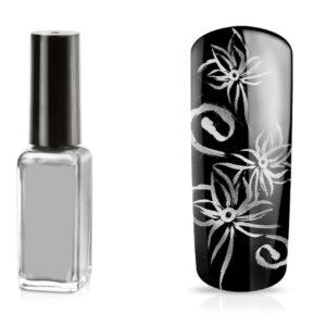 Nailart pen zilver metallic voor het gemakkelijke decoreren van jouw nagels.