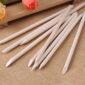 Manicure stokjes hout zijn handig bij het maken van nagels.