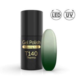 Thermo Gellak T140 is een gellak met speciaal effect.