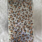 Transferfolie leopard zilver voor een trendy nageldecoratie.