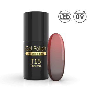 Thermo gellak T15 voor gelnagels met speciale effecten.