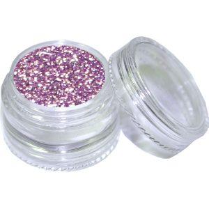 potje lavendel glitter poeder voor nageldecoratie