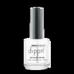 Fast Air Dry Top Coat te gebruiken op dippoeder, nagellak, acryl en gels voor absolute hoogglans.