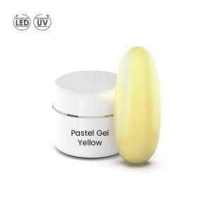 Kleur gel in de pastel kleur yellow voor led- en uv-lampen.