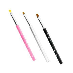 Voordelige penselenset, voor gelnagels, 2+1 gratis.