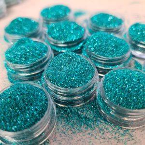 Glitter poeder fijn atlantis