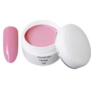Colour Gel flamingo is een kleurgel in een mooie roze kleur.