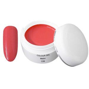Colour Gel melon is een led/uv kleurgel in een mooie trendy kleur.