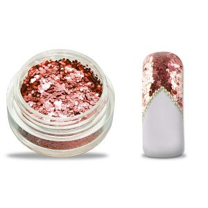 Glitter pailletten klein rosado voor leuke nailart.