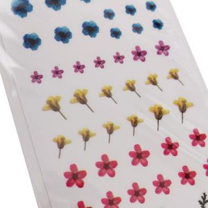 Nagelsticker Flower power 2 voor trendy bloemtjes op de nagel.