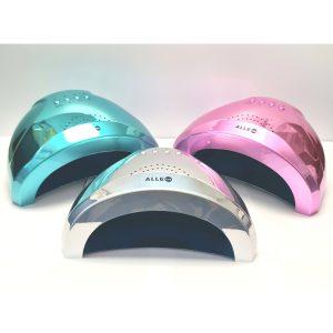 LED/UV lamp 48W pink-holo voor het maken van gelnagels.
