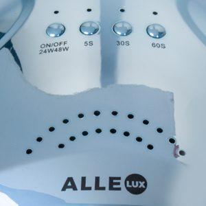 LED/UV lamp 48w blue holo voor het uitharden van gel en gellakken.