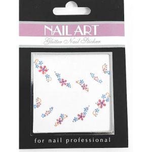 Nagelsticker Girly 3 voor een snelle nageldecoratie in trendy kleuren.