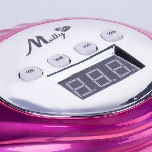 LED/UV lamp 86W Infinity holo-pink voor het optimale uitharden van gels en gellakken.