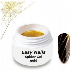 Spider Gel gold voor een aparte nageldecoratie.