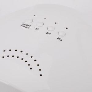 LED/UV lamp 48w sunwhite met drie verschillende timers.